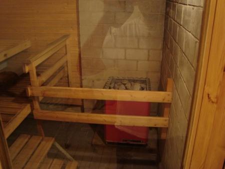 Calentador de la sauna